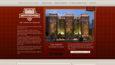 Oklahoma City Skirvin Centennial