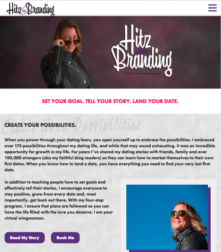 Hitz and Branding - Home - Tablet