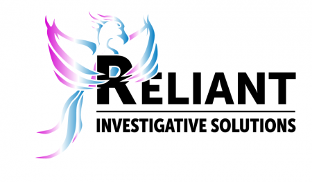 Reliant Investigative Solutions Logo - Blue & Purple