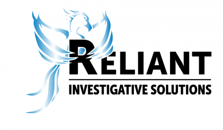 Reliant Investigative Solutions Logo - Blue