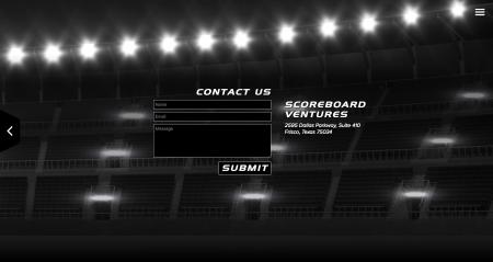 Scoreboard Ventures Demo Site - Contact