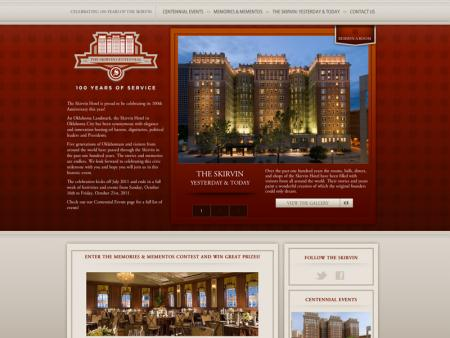 Oklahoma City Skirvin Centennial - Home