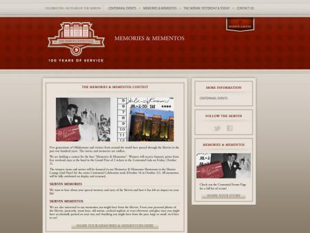 Oklahoma City Skirvin Centennial - Memory