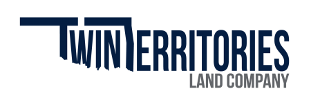 Twin Territories Land Company Logo - Dark Blue