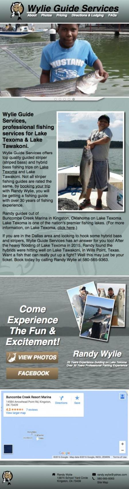 Wylie Guide Services - Tablet